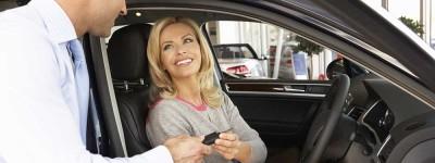lady taking car keys