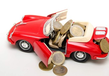 coins in convertible - car resale value