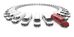 business fleet brokering - circle of cars
