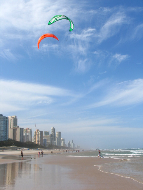 Gold Coast beach - car buyer