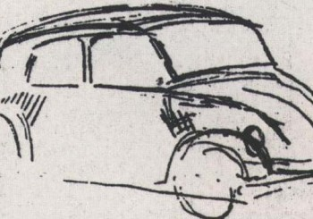 sketched by Hitler