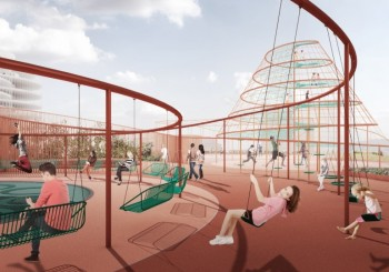 Playground on the roof