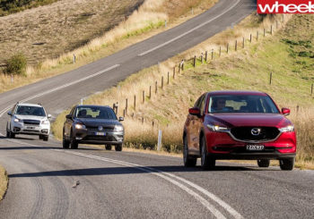 SUV Comparison - CX-5 v Tiguan v Forester