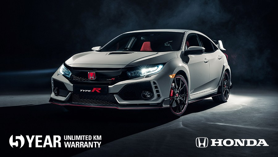 Honda has a new 5 year warranty