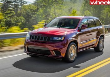 Jeep Grand Cherokee SRT Trackhawk is a winner