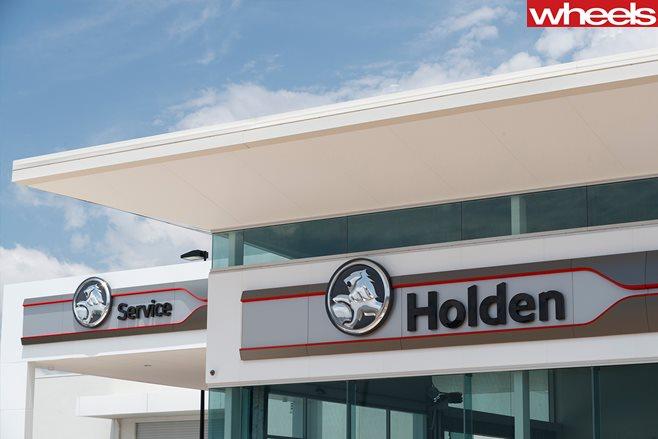 Holden dealership