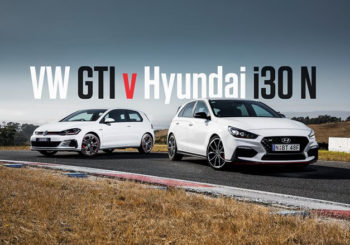 Hyundai i30N v VW Golf GTI