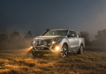 Mazda BT50 has a facelift