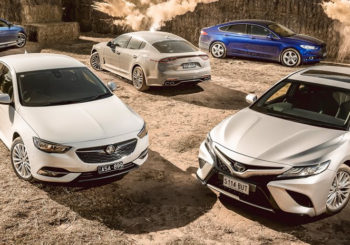 five sedans compared