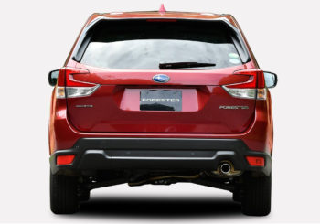 Subaru Forester points of interest