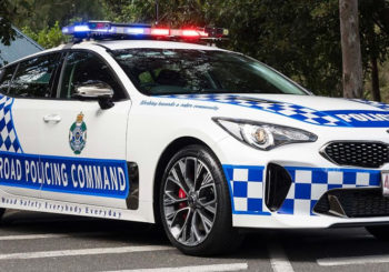Qld Police buy Kia Stingers