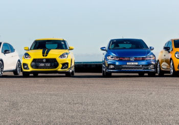 Hot Hatches fight it out