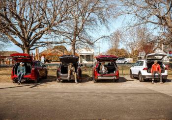 Subaru Forester vs 3 Rival SUVs