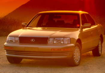 Lexus LS400 - one of the best