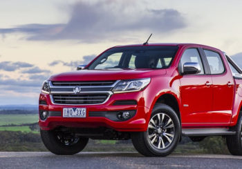 Holden Colorado kicking goals