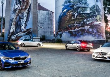 BMW 330i vs Audi A4 45 TFSI vs Jaguar XE 300 Sport vs Mercedes-Benz C300 comparison review