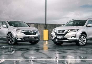 2019 Honda CR-V vs 2019 Nissan X-Trail
