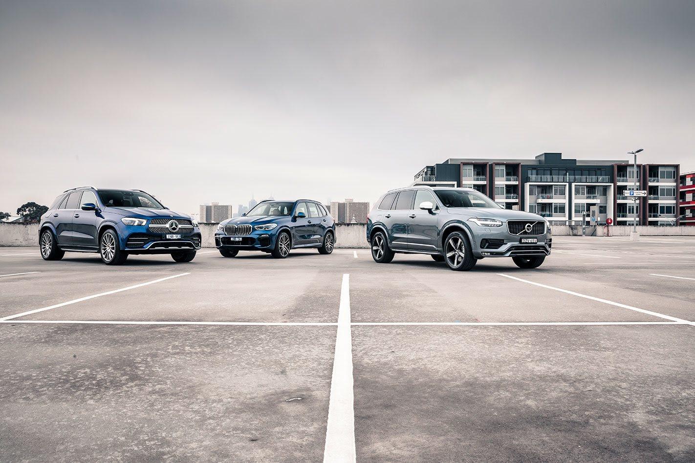 Large Luxury SUV Comparison