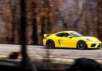 Porsche's Cayman GT4