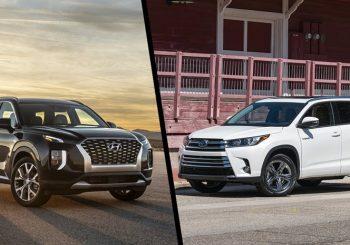 Hyundai Palisade vs Toyota Kluger SUV's