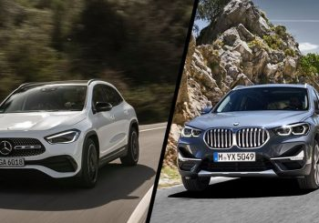 Small SUV's from Mercedes and BMW