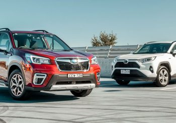 Forester & RAV4 Hybrids compared