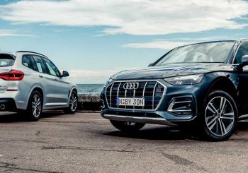 Audi Q5 v BMW X3 face off