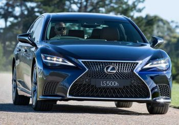 Lexus LS 500h - a taste of luxury