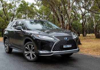 Lexus RX450hL with luxury you might expect