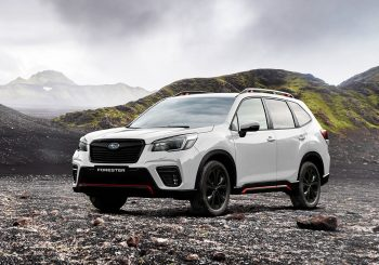 Subaru Forester 2.5i Sport is being tested